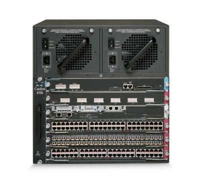 Cisco Catalyst 4506 Classic Switch (6-slot chassis)