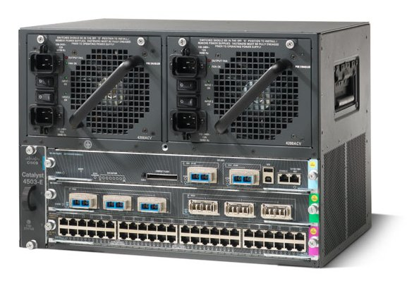 Cisco Catalyst E Series 4503 Switch (3-slot chassis)