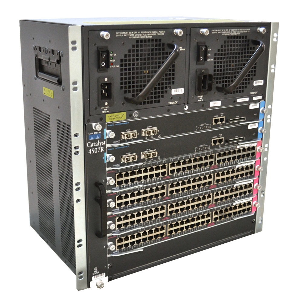 Cisco Catalyst 4507R Classic Switch (7-slot chassis)