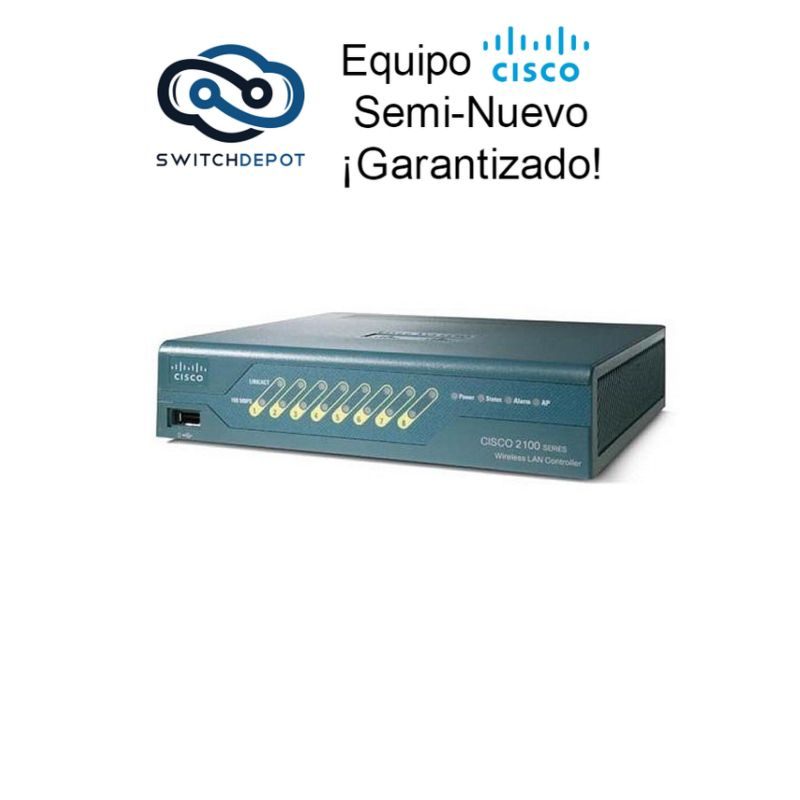 Cisco 2106 Wireless LAN Controller for 6 Cisco access points - (AIR-WLC2106-K9)
