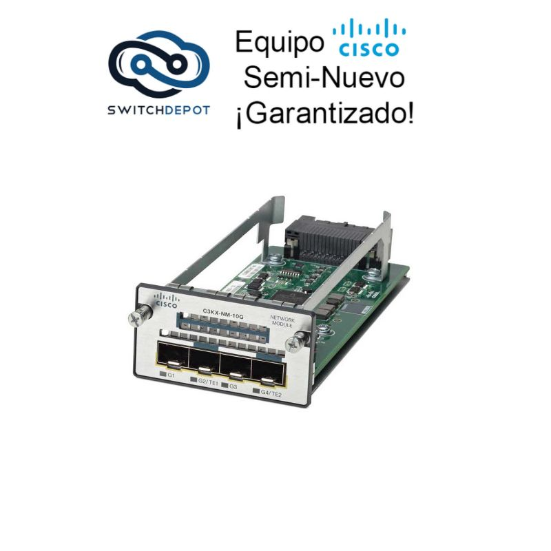Cisco 10G Network module for X Series Switches - (C3KX-NM-10G)
