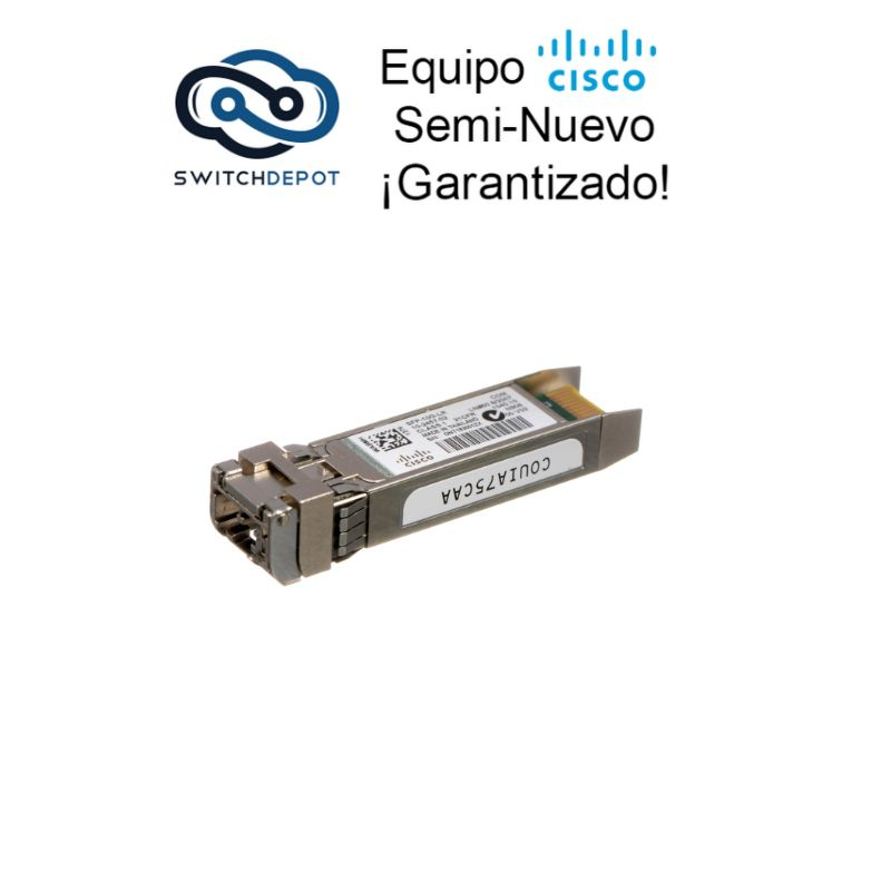 Cisco 10G BASE-LR SFP+ Module for Single-Mode Fiber - (SFP-10G-LR)